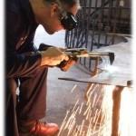 blacksmith forging the Tree of Life